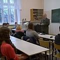 Lekcja historii w Zespole Szkół w Paczkowie